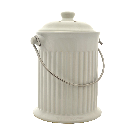 | Compost Keeper - White Ceramic | Mast General Store