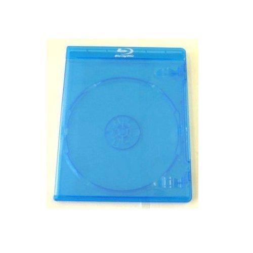 CD-Leerhüllen für Blu-Ray, 11mm Rücken, Packung mit 10 Stück (Ersatz für Standard-BluRay-Hüllen