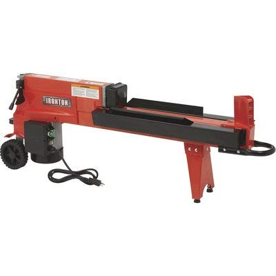 Ironton Horizontal Electric Log Splitter - 5-Ton, 15 Amp, 120V Motor