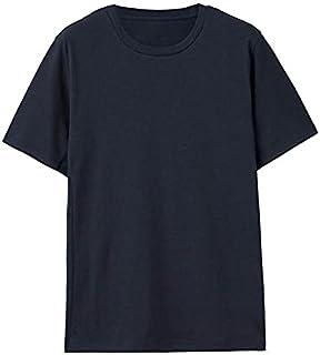 Fbnzmluqdx Tshirt for Men Men TshirtsQuick Drying Tee Shirts Loose Tops Sportswear Male New Tee Casual (Color : Black, Siz...