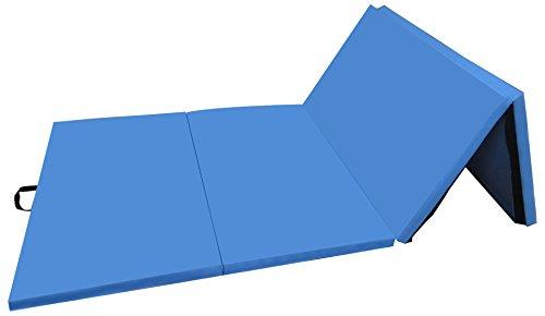 BalanceFrom GoGym All-Purpose 4'x10'x2 Inch Extra Thick High Density Anti-Tear Gymnastics Gym...