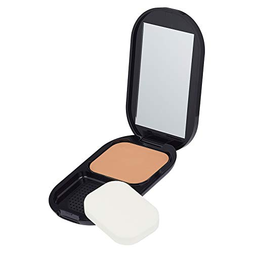 Max Factor Facefinity Compact Make-up Toffee 008 – Puder Foundation für ein mattes Finish – 1 x 10 g
