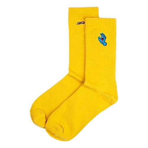 Santa Cruz Screaming Mini Hand Socks - Mustard
