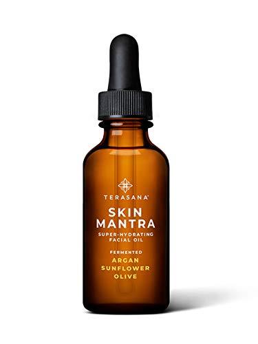 Terasana Skin Mantra Super-Hydrating Facial Oil   All-Natural, Vegan Anti-Aging Oil for Glowing Skin (1oz)
