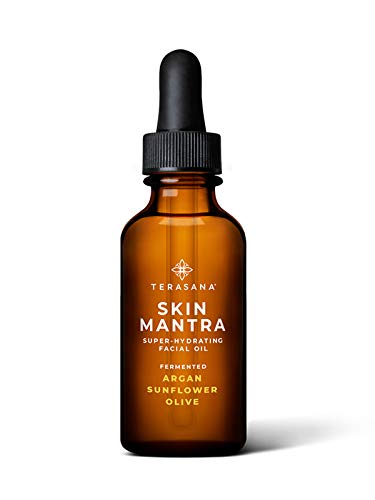 Terasana Skin Mantra Super-Hydrating Facial Oil | All-Natural, Vegan Anti-Aging Oil for Glowing Skin (1oz)