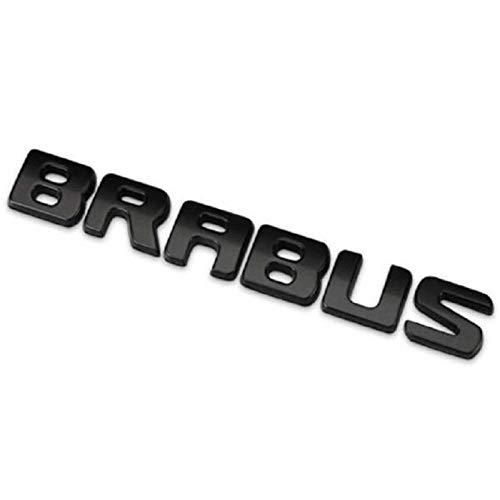 CXYYJGY Aufkleber für Kofferraum Auto Emblem Abziehbild Zubehör Stil Logo Brabus Schwarz