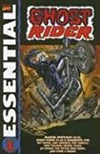 By Roy Thomas Essential Ghost Rider, Vol. 1 (Marvel Essentials) (Direct Ed) [Paperback]