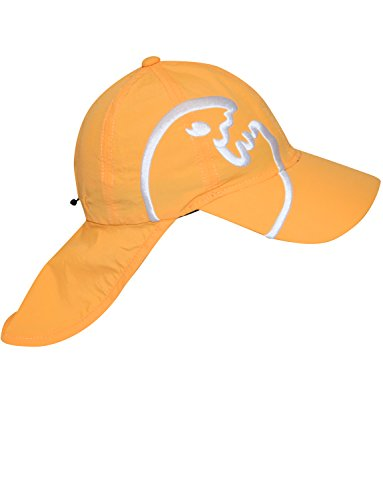 iQ-Company Kinder Cap IQ UV 200 Kids und Neck Bites, Orange (Orange), 50-55 cm328401_2260-OS