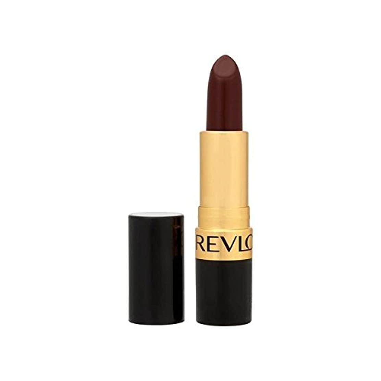 赤外線翻訳宿Revlon Super Lustrous Lipstick Black Cherry 477 (Pack of 6) - レブロンスーパー光沢のある口紅ブラックチェリー477 x6 [並行輸入品]