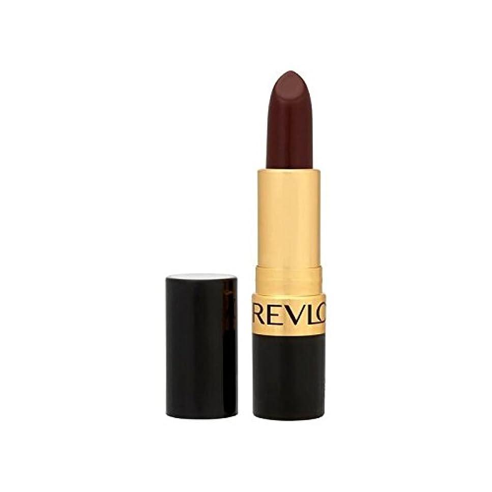 鉄立ち向かうリップレブロンスーパー光沢のある口紅ブラックチェリー477 x4 - Revlon Super Lustrous Lipstick Black Cherry 477 (Pack of 4) [並行輸入品]