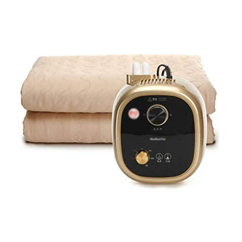WSZJJ Double Electric Blanket, Plumbing Blanket Electric Blanket Water Circulation Household Thermostat Electric Mattress