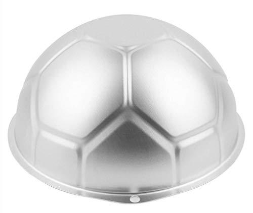 WDYJMALL Moule à gâteau 3D en aluminium en forme de ballon de football - 20,3 cm