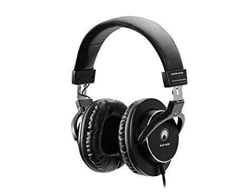 OMNITRONICSHP-900 Monitoring-Kopfhörer | Geschlossener, ohrumschließender, dynamischer Stereokopfhörer | Sehr gute Außengeräuschdämmung