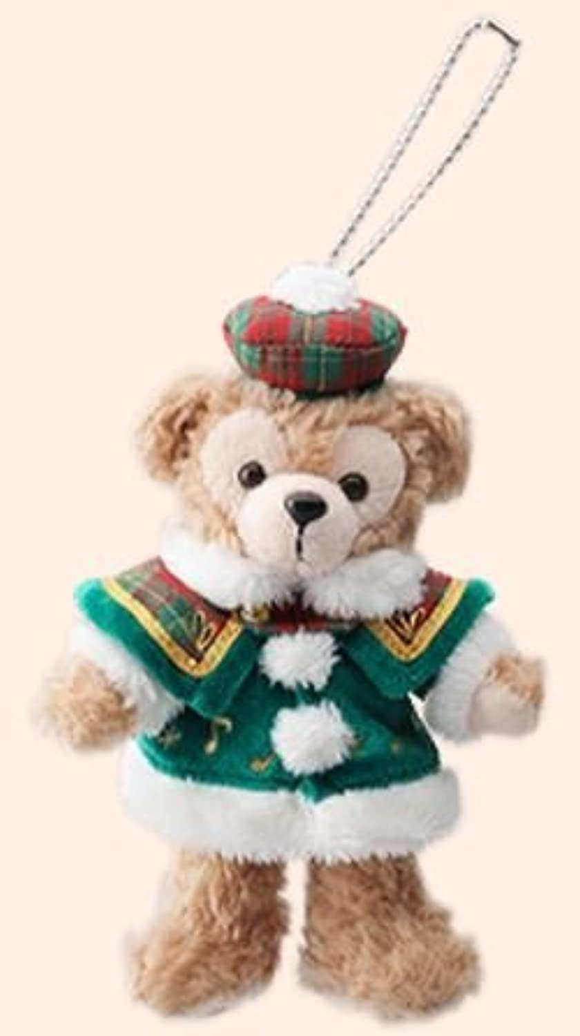 [Tokyo DisneySea 2012  Christmas  Duffy stuffed badge] TDS Christmas Duffy Plush Ball Chain batch (japan import)