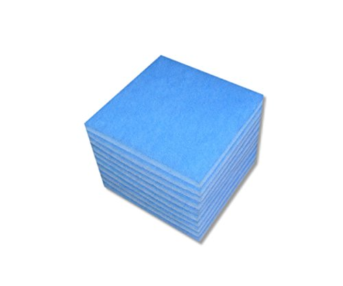 Preisvergleich Produktbild 10 Filter Ersatzfilter für Limodor Limot Compact 238 x 238 mm,  Artikelnr 00070,  Badlüfter Luftfilter