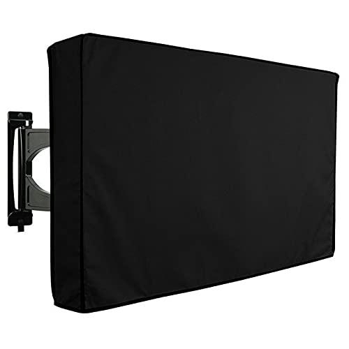 UISY Cubierta para TV al aire libre, protector de pantalla de TV, cubierta para el polvo, resistente a la intemperie y al polvo, para protección de TV