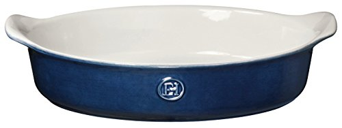 Emile Henry HR Ceramic Individual oval baker, Twilight