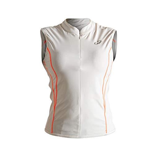 Camisa Sem Manga Para Ciclismo Feminina Hh3-Perform Hammerhead Mulheres Branco/Laranja (1)PP