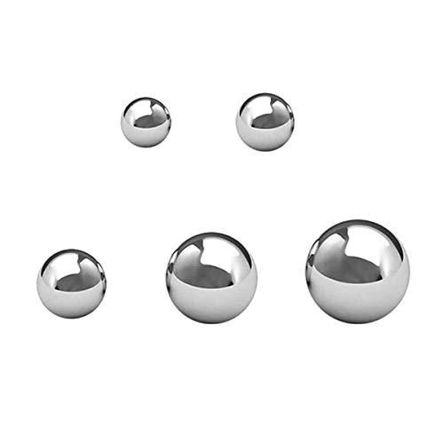 "500Pcs G16 Assorted Loose Bicycle Bearing Balls 1/8"", 5/32"", 3/16"" 7/32"" and 1/4"""