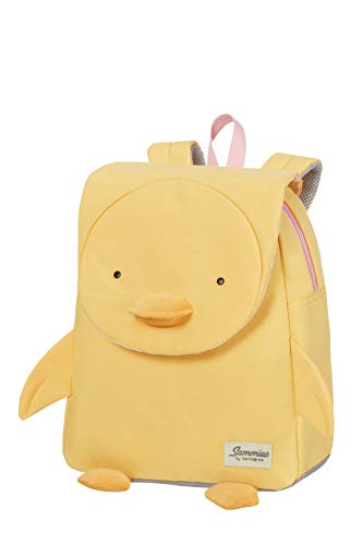 Samsonite Happy Sammies Eco - Mochila Infantil S+, 32 cm, 11 L, Amarillo (Duck Dodie)