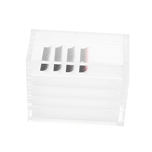 Acrylic 5 Layers Clear Eyelash Stor…