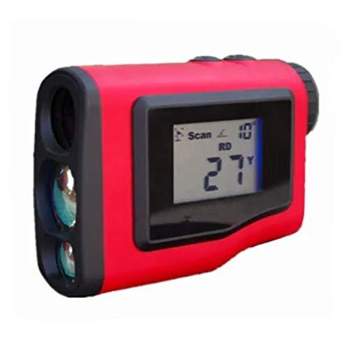 Telémetro de Golf LCD impermeable 600m GRANERA DE GOLF CORMA DE GOLFIANDO Ángulo de Golf Distancia Golf Medidor Mensión Monocular Telescopio Caza Gama para Tiro con Arco Deportes al Aire Libre