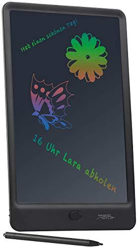 General Office Grafiktablett: LCD-Schreibtafel, 25,4 cm / 10 Zoll, Stift, Lösch-Sperre, Mehrfarbig (Notiztafel)
