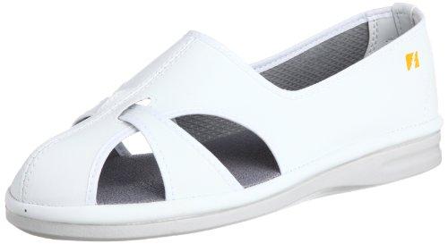 [ミドリ安全] 作業靴 静電気帯電防止 エレパス PS01S レディース ホワイト JP 27(27.0cm)
