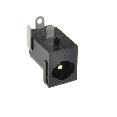 Sourcingmap DC Conector de Toma de Corriente Hembra Jack Adapter Locking Socket Solder for Power Connectors Mount Size 2.1mm x 5.5mm