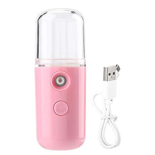 Spruzzatore portatile per nebulizzatore, Mini nebulizzatore Handy Nebulizzatore atomizzatore, Vaporizzatore facciale, Idratante per il viso, Idratante