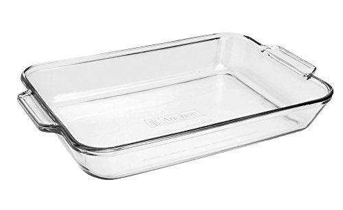 Anchor Hocking Oven Basics Bake Dish, 5 quart, Clear