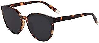 Sojos Round Sunglasses for Women - Black Lens, SJ2057