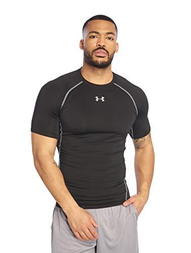 Under Armour Herren T-Shirts HeatGear Compression schwarz XL