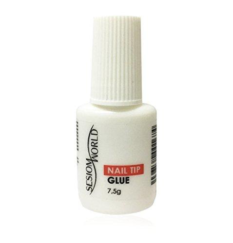 Sesiomworld Pegamento Especial para Uñas Nail Tip Glue 7,5 gr 1 Unidad 100 g