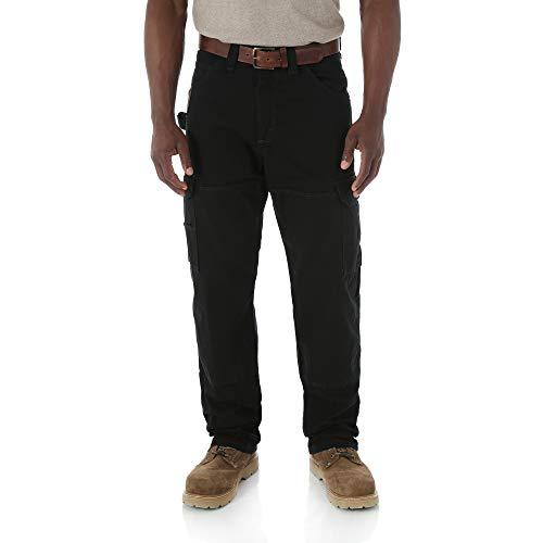 Wrangler - Pantalón - para Hombre Negro Bl 33W/30 L