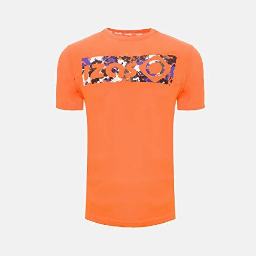 Chemise Technique Akron Izas (Orange, S)