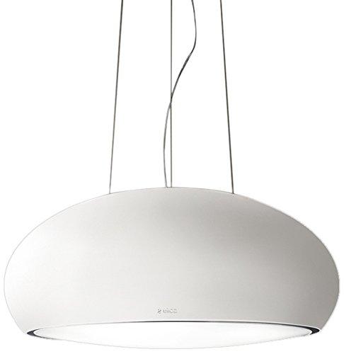 Elica SEASHELL WH MAT OPACO/F/80 Decorativa Blanco 500m³/h - Campana (500 m³/h, Recirculación, 42 dB, 61 dB, 60 cm, 70 cm)