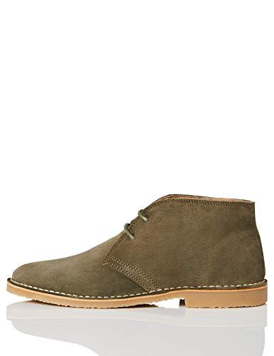 find. Desert Boot, Desert Boots, Grün (Green Jeans (Suede)), 42 EU (8 UK)