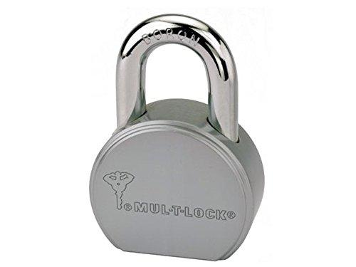 Mul-T-Lock Junior TSR Heavy Duty Round Body Padlock - Non Key Retaining- 7/16' Shackle (1' Inch Clearance)