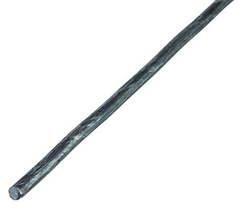 GAH-Alberts 432690 Rundstange aus Stahl, roh, 1000 x 10 mm
