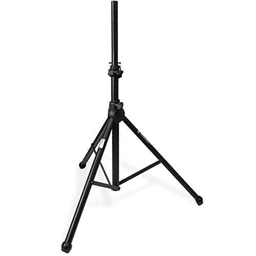 Knox Air Cushion Tripod Speaker Stand - Adjustable Up to 6 Feet, Heavy Duty Universal Support - Standard 35mm Mount Holder for Studio, DJ Events, Music Performance - Easy to Setup