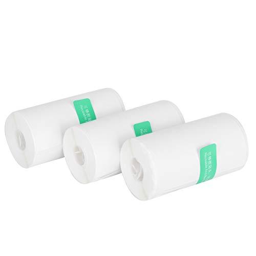 Thermodruckaufkleber, Kopierdruckerpapier Dauerhaftes Druckpapier, Drucken von Quittungspapier Ölsicher für Fotos Text Office Home