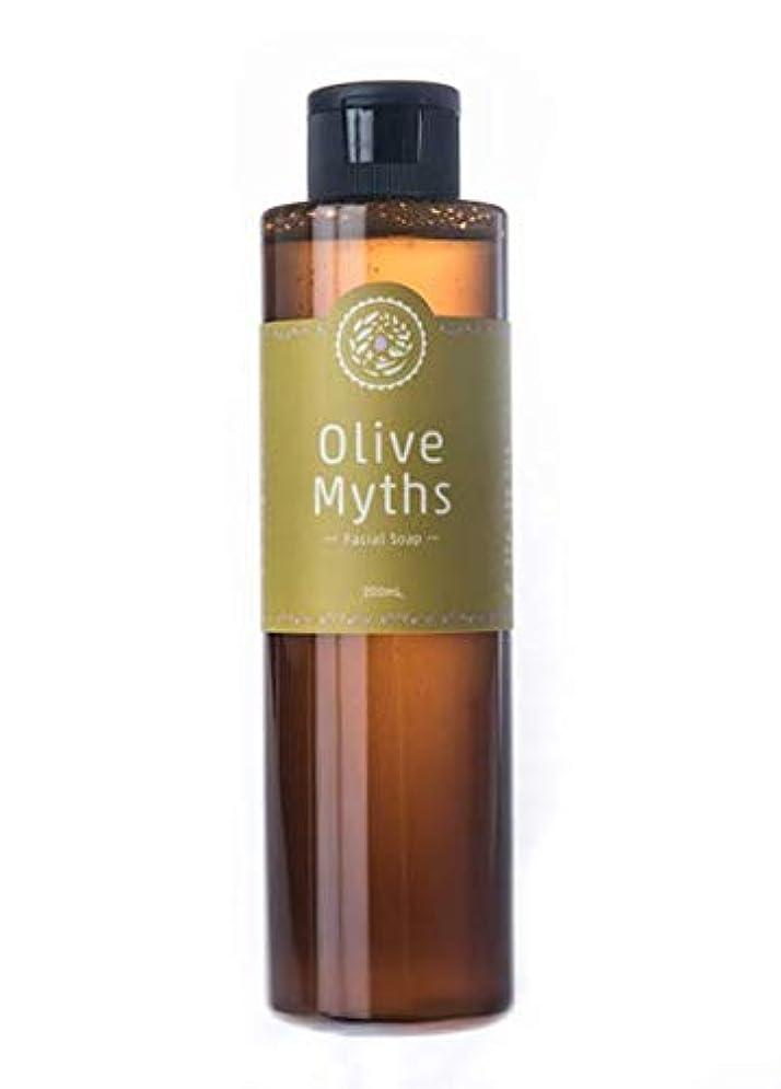 判読できないドキュメンタリー反映するmaestria. OliveMyths 『Olive Myths フェイシャルソープ』200ml MJOM-002