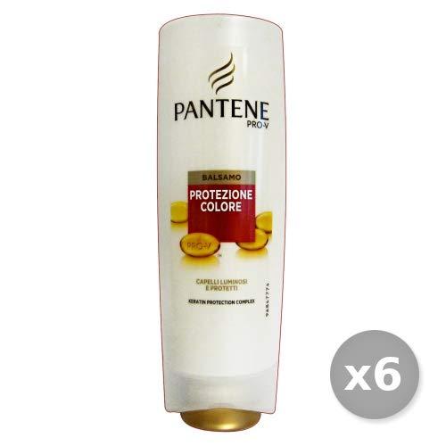 Pantene Set 6 Balsamo Protezione Colore 200 Ml. Prodotti per Capelli, Multicolore, Unica