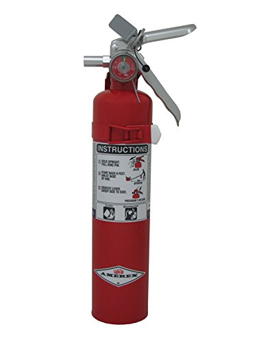 Amerex B410T, 2.5lb Purple K Chemical Class B C Fire Extinguisher