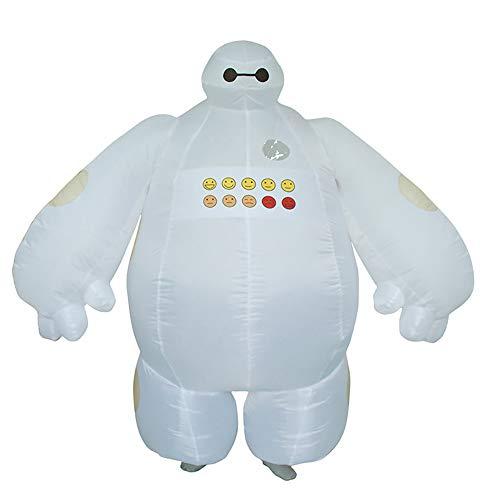 FunnyCos Unisex Erwachsene Rollenspiel Aufblasbares Kostüm Blow Up Cosplay Verkleidung Gr. One size, Baymax