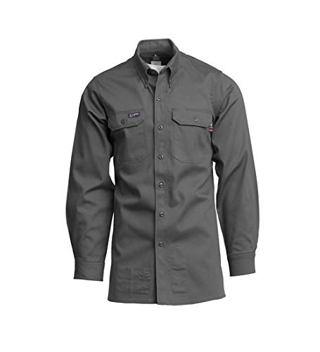 LAPCO IGR7 Lightweight Cotton Flame Resistant Work Shirt