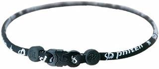 Phiten, Titanium Star Necklace, Black, 26-Inches