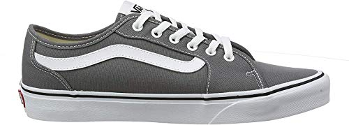 Vans Herren Filmore Decon Sneaker, Grau ((Canvas) Pewter/White 4wv) 44 EU