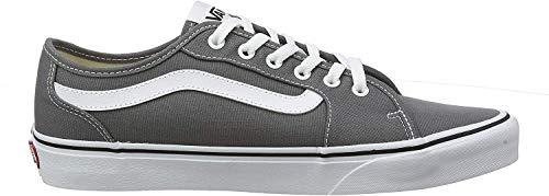 Vans Herren Filmore Decon Sneaker, Grau ((Canvas) Pewter/White 4wv) 43 EU